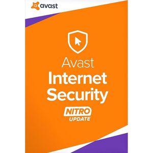 BUREAUTIQUE À TÉLÉCHARGER Avast Internet Security 2017 1 Postes / 1 An / Ver