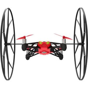 DRONE Parrot MiniDrones Rolling Spider Rouge Drone