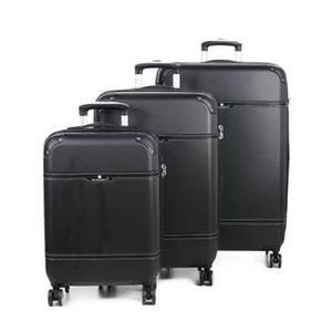 SET DE VALISES Ensemble de 3 valises noir