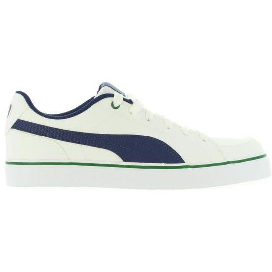 Chaussures de sport pour Femme PUMA 362947 COURT 08 Blanc Blanc - Achat / Vente chaussures multisport