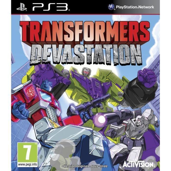 Jeux ps3 transformers achat vente jeux ps3 for Ps3 pas cher biz