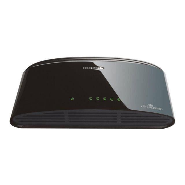 D-Link Switch Ethernet 5 ports 10/100 Mb DES-1005D