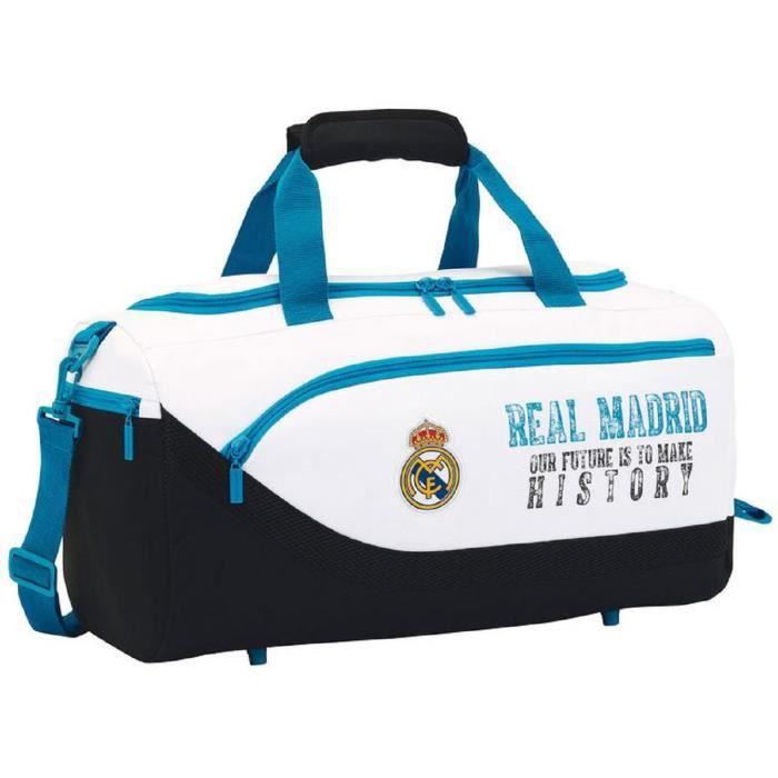 Real Madrid Sac de sport et de voyage Noir 55x 27x 26cm QBgu8MMoa