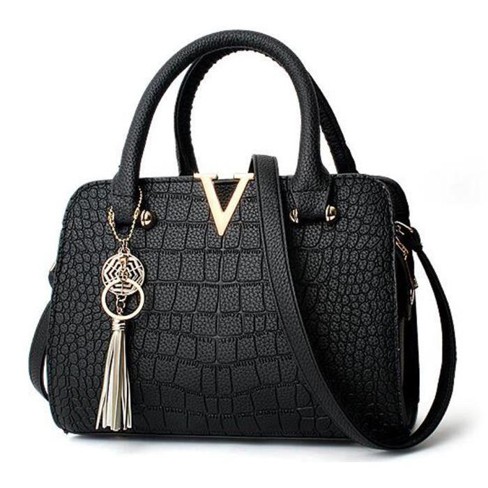 sac à main Bonne qualité femme en cuir PU marque de luxe en cuir PU femme célèbre designer femmes sac fourre-tout -916