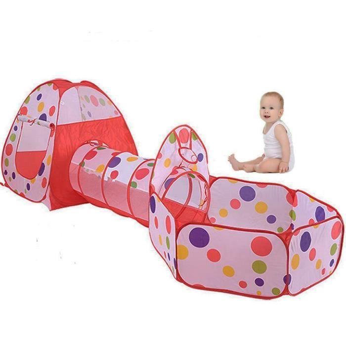 tunnel enfant achat vente jeux et jouets pas chers. Black Bedroom Furniture Sets. Home Design Ideas