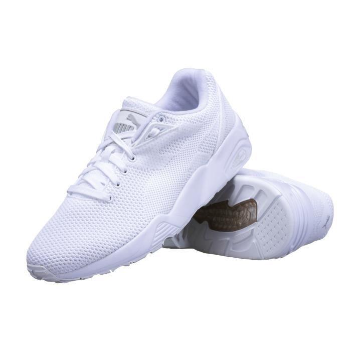 Chaussure Puma R698 Knit Mesh V2 3608001 Blanc Blanc Achat