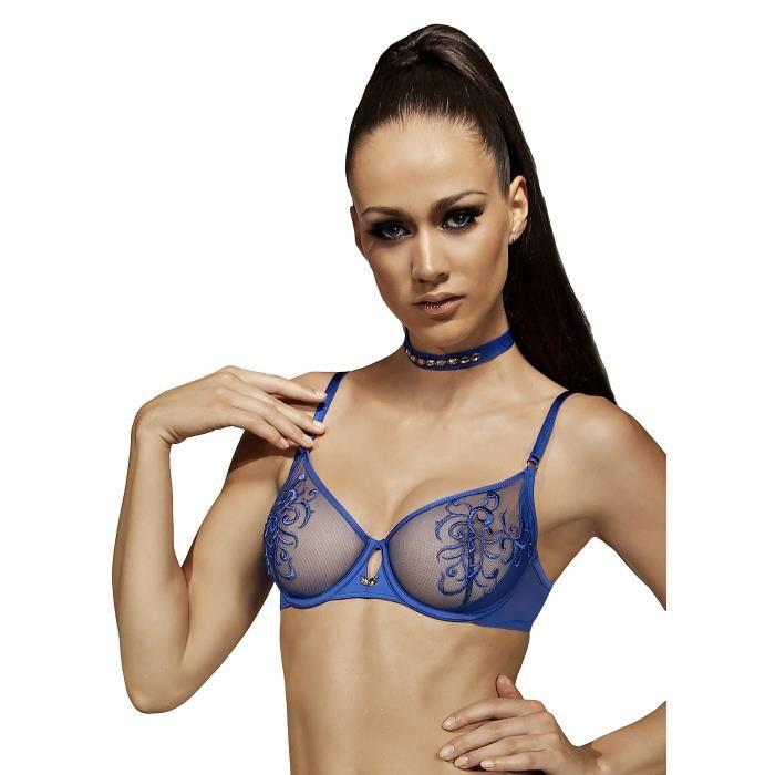 Soutien-Gorge Voile Armaturé Bluebell de Lisca ... Bleu - Achat ... c410f695a08