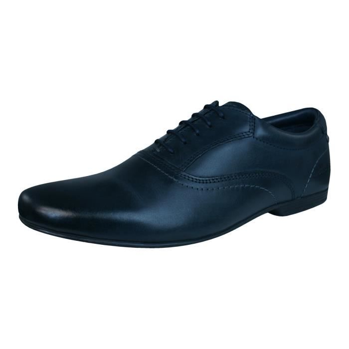 Marques Chaussure homme Base London homme Elgar waxy black