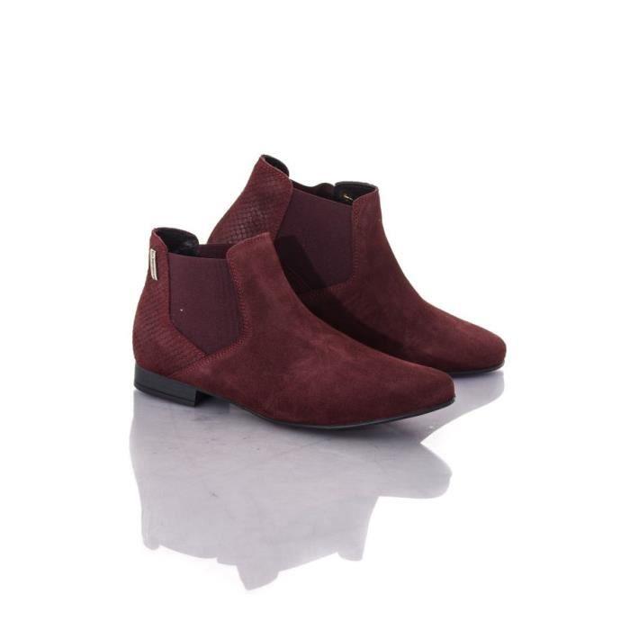 Les Tropéziennes par M Belarbi Boots - bottes Paradizo bordeaux