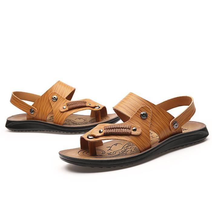 Sandales hommes d'été Mode de plage