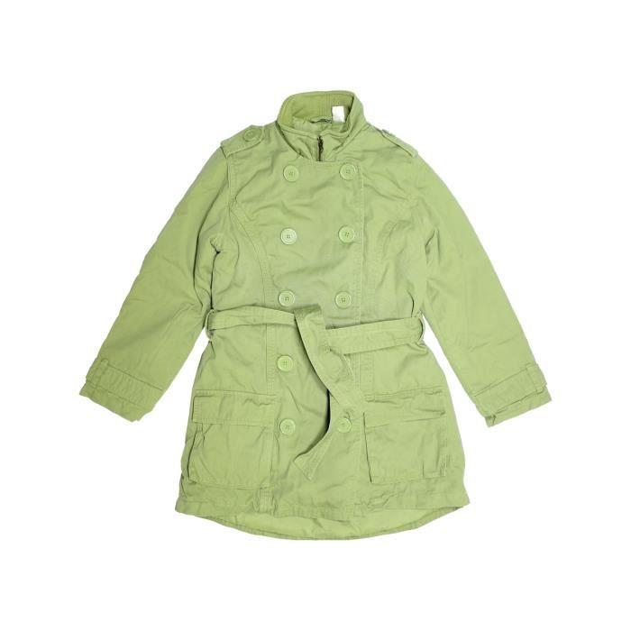 ff396e4da0150 Parka - Trench enfant fille LA REDOUTE CRÉATION 13 ans vert hiver - vêtement  bébé  1116496
