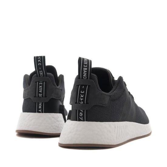 more photos 06099 1b629 Baskets adidas Originals Nmd R2 - CQ2400 Noir Noir - Achat   Vente basket -  Cdiscount