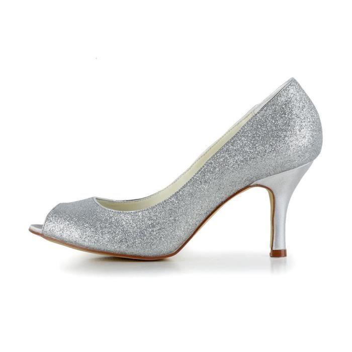Jia Jia Wedding A31B6A chaussures de mariée mariage Escarpins pour femme 6GorrUvK1l