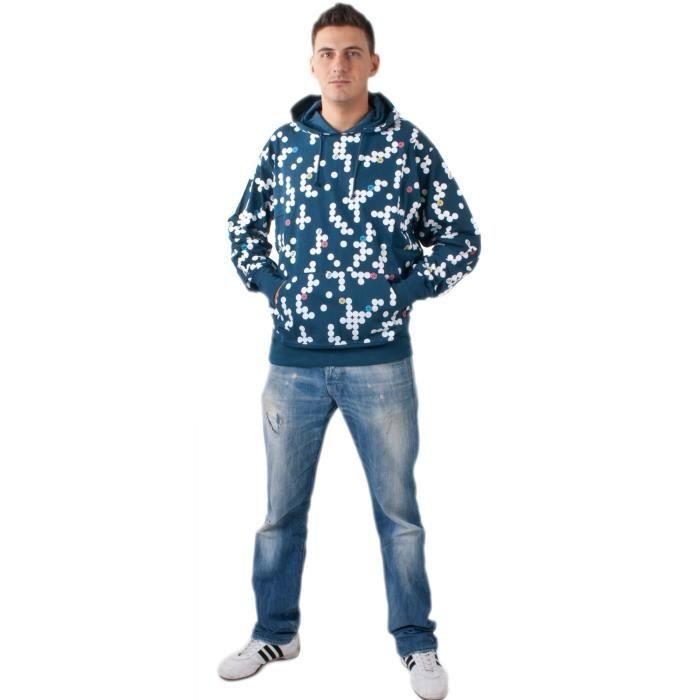 Onitsuka Tiger Asics Mens Jersey capuche bleu [xl]
