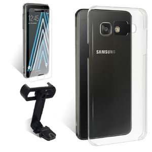 EXOPACK Support voiture Galaxy A3 Coque Film V.T
