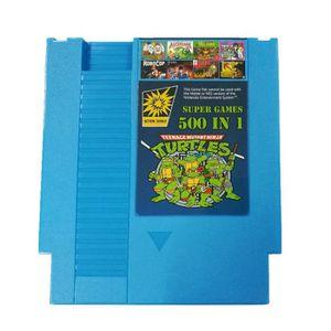 JEU DS - DSI 500 en 1 Cartouche de jeux bleu pour Nintendo NES