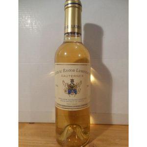 VIN BLANC 37,5 cl sauternes château bastor-lamontagne liquor