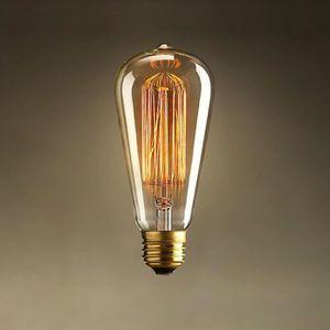 AMPOULE - LED 6x E27 40W Ampoule Incandescente 220V ST64 Rétro E