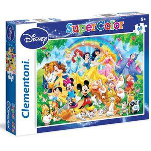 PUZZLE Puzzle 60 pièces : Famille Disney aille Unique Col