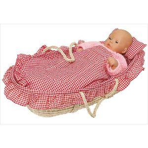 ACCESSOIRE POUPON Couffin pour poupées jusqu'à 52 cm