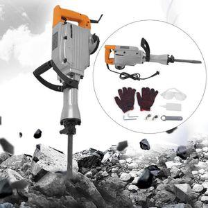 MARTEAU PIQUEUR 2200W marteau piqueur électrique industriel en mét
