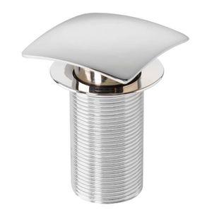 BONDE - CABOCHON WIRQUIN Bonde de lavabo Quick-Clac - 75 mm - Carré