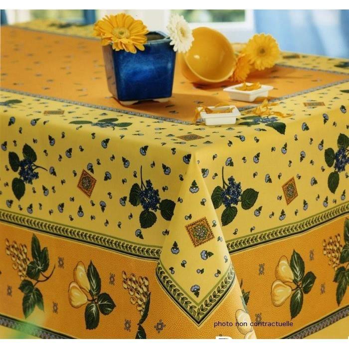 nappe ronde tissu 180 cm achat vente nappe ronde tissu 180 cm pas cher cdiscount. Black Bedroom Furniture Sets. Home Design Ideas
