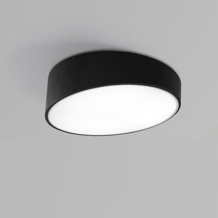 50cm noir plafonnier led rond creatif lampe de pla 5 Merveilleux Plafonnier Led Rond Pkt6