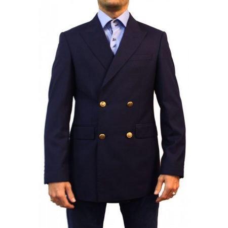 blazer croise bleu marine achat vente veste cdiscount. Black Bedroom Furniture Sets. Home Design Ideas