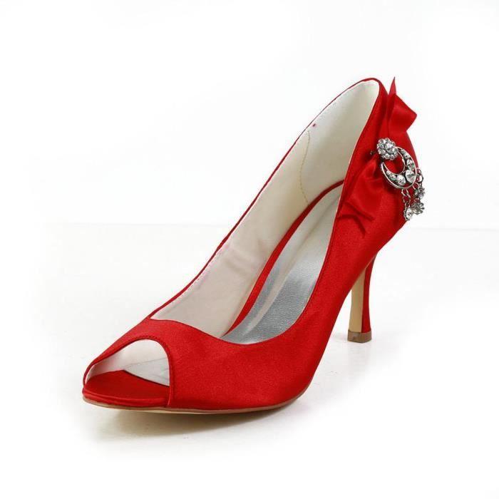 Jia Jia Wedding A31B6 chaussures de mariée mariage Escarpins pour femme H29kV