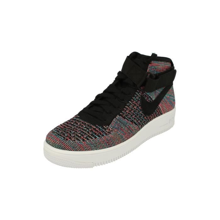 Nike Af1 Ultra Flyknit Mid Hommes Trainers 817420 Sneakers Chaussures 602 JpazEvuFdD