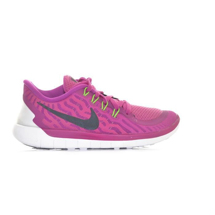 Basket Nike SPORTIF NIKE FREE RUN 5.0 ROSE SYNTHÉTIQUE FEMME