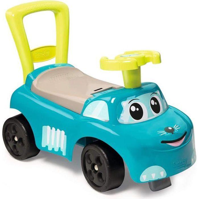 SMOBY - Porteur Auto Enfant Bleu - Achat