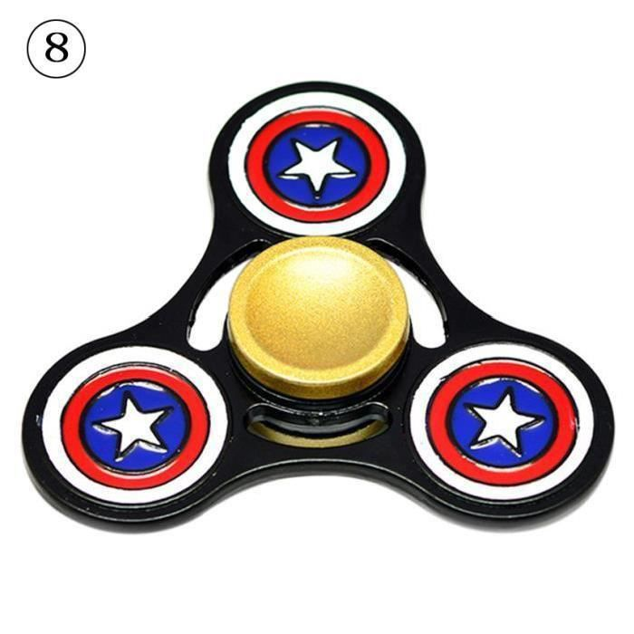 Hand spinner super heros achat vente jeux et jouets - Capitaine americain ...