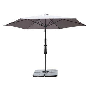 parasol achat vente parasol pas cher cdiscount. Black Bedroom Furniture Sets. Home Design Ideas