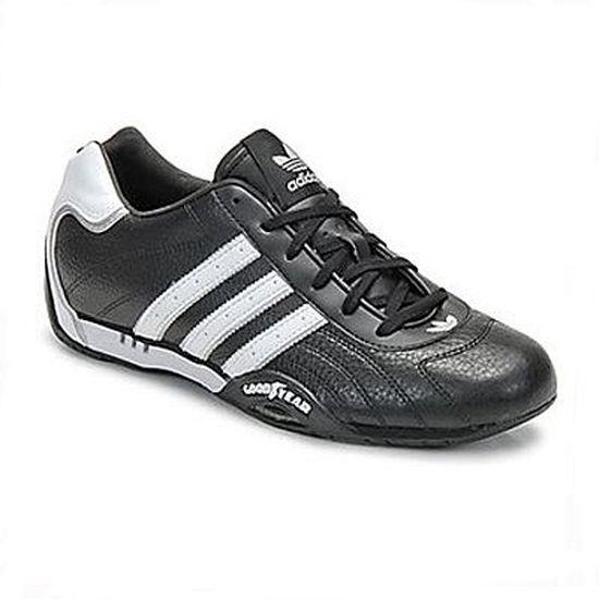 new product 85470 de1ae Adidas ADIRACER LO Jr Noir-Blanc… - Achat  Vente basket - Soldes dès le 9  janvier ! Cdiscount