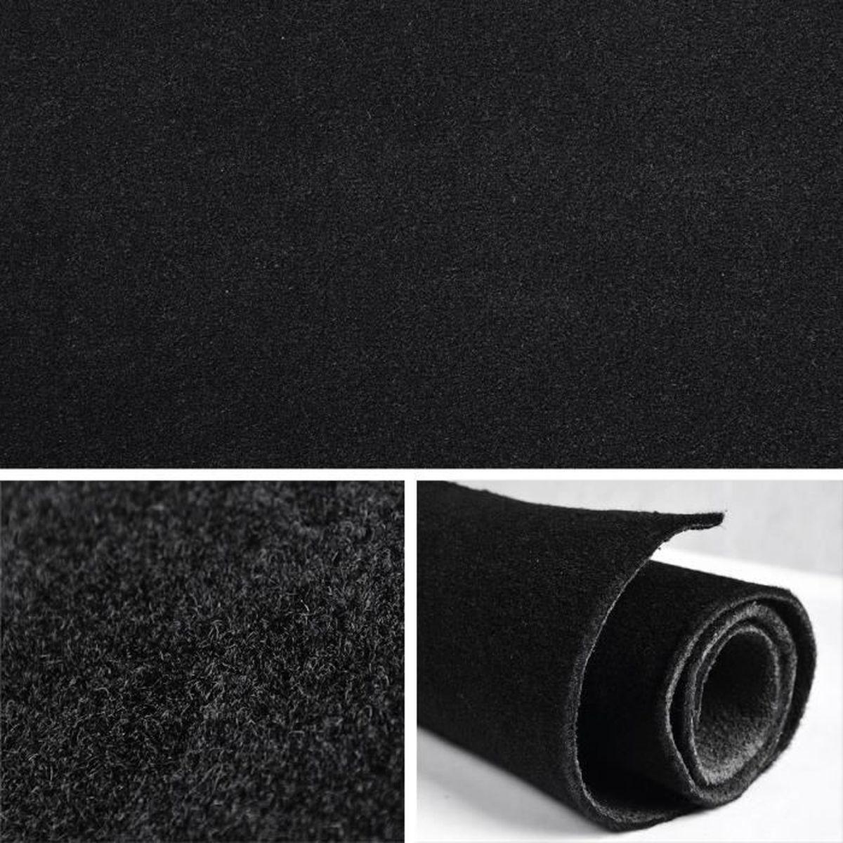 moquette de luxe noir achat vente voiture moquette de. Black Bedroom Furniture Sets. Home Design Ideas