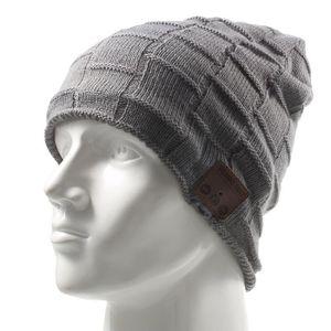 CASQUE - ÉCOUTEURS Aihontai Bluetooth Beanie chapeau, hiver de sport