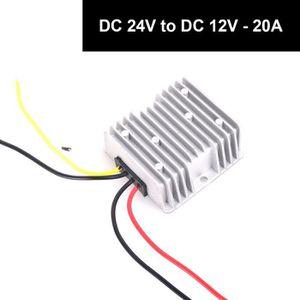 ALIMENTATION 24V vers 12V DC 20A adaptateur step down réducteur