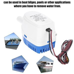 POMPE DE CALE Pompe à eau Bateau 12V Pompe de cale auto marine a