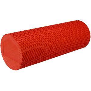 BALLON SUISSE-GYM BALL AVENTO Rouleau de massage yoga en mousse - Rouge