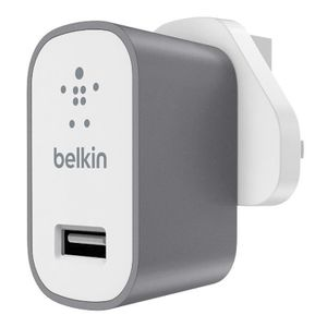 CHARGEUR - ADAPTATEUR  Belkin Chargeur secteur 2 A 3 broches prise UK, ch