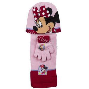magasiner pour l'original haut de gamme authentique sélectionner pour authentique Bonnet écharpe gants enfants Minnie Mouse filles 3 - 4 - 5 ...