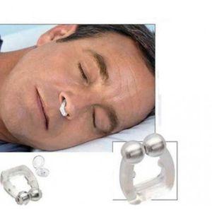 ANTI-RONFLEMENT Clip de nez magnétique Unisexe Anti Ronflement Sil