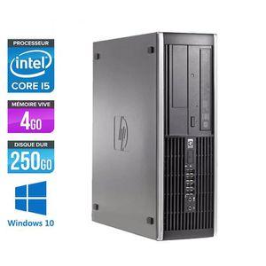 UNITÉ CENTRALE  PC HP 8100 - Core i5 - 3,2GHz -4Go -250Go -Windows