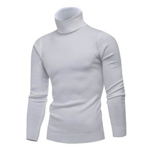 df606bf50a278 Pull col roule blanc homme - Achat / Vente pas cher