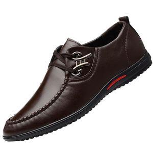 new concept af0cb 20356 DERBY Mode Chaussures en cuir daffaires décontractée De ...