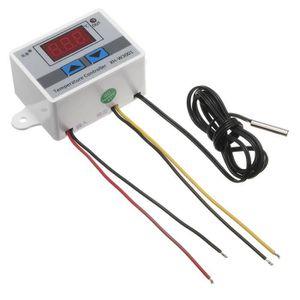 Capteur de Température 24V 220V 10A LCD Thermostat Contrôleur Régulateur