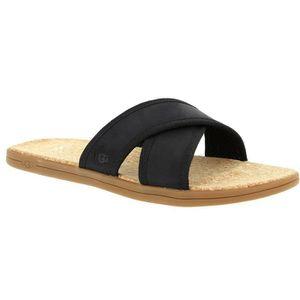 SANDALE - NU-PIEDS Sandales et nu-pieds - UGG SEASIDE 42 Noir