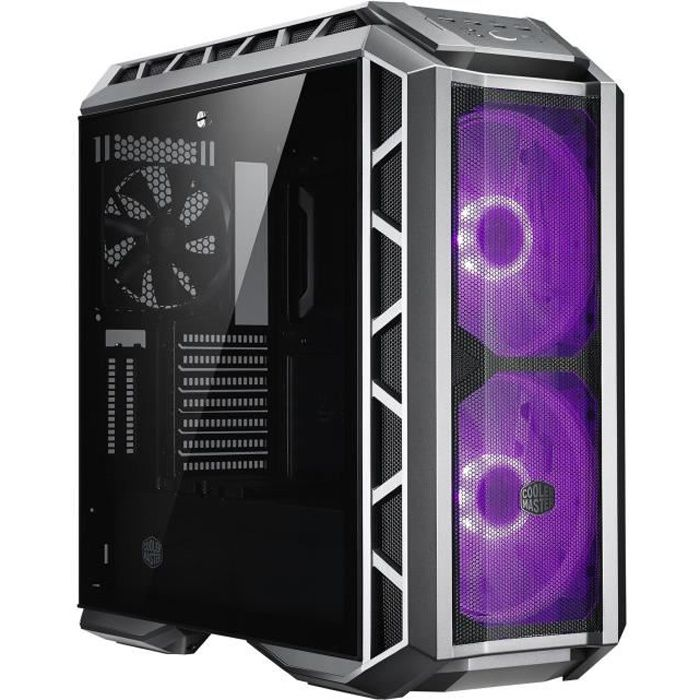 COOLER MASTER Boîtier PC MasterCase H500P Mesh et White Edition